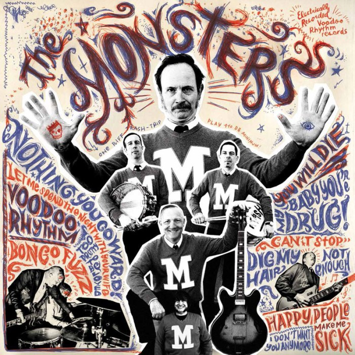 The Monsters  – Dig My Hair
