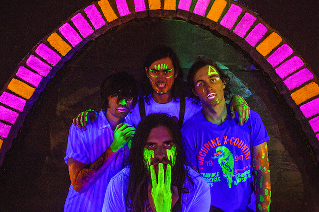 Fuzzy sounds on haunted history byMeatbodies