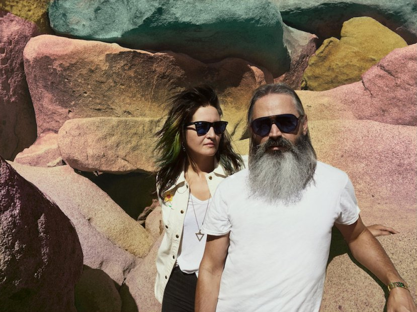 Sevens, the new track by Moon Duo