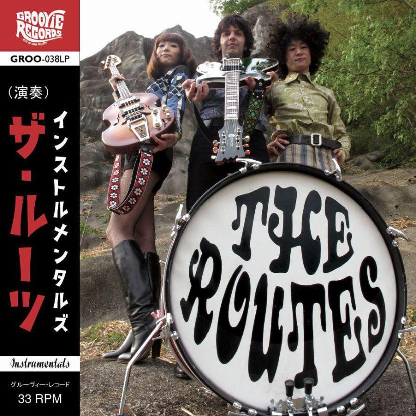 Fuzzy Garagerock by Japanese band The Routes