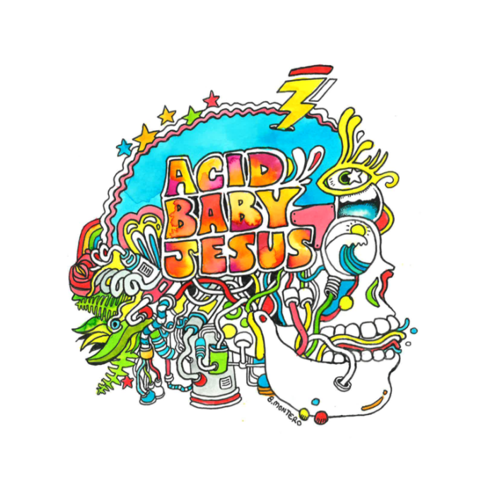 Get a taste of the upcoming Acid Baby Jesus LP