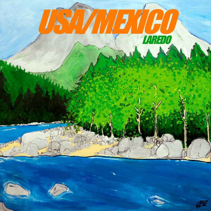 Incredible noisy debut Laredo byUSA/MEXICO