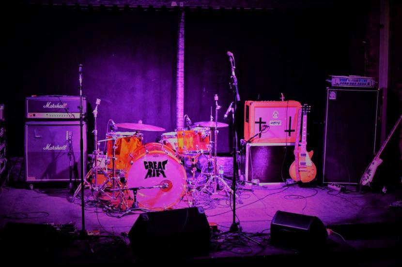 Psychedelic bluesrock on Great rift'sVoodooWoodland