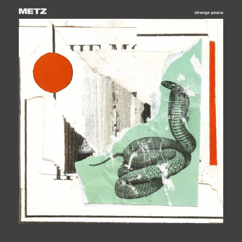 "New METZ track ""cellophane"" for upcoming album Strange Peace"