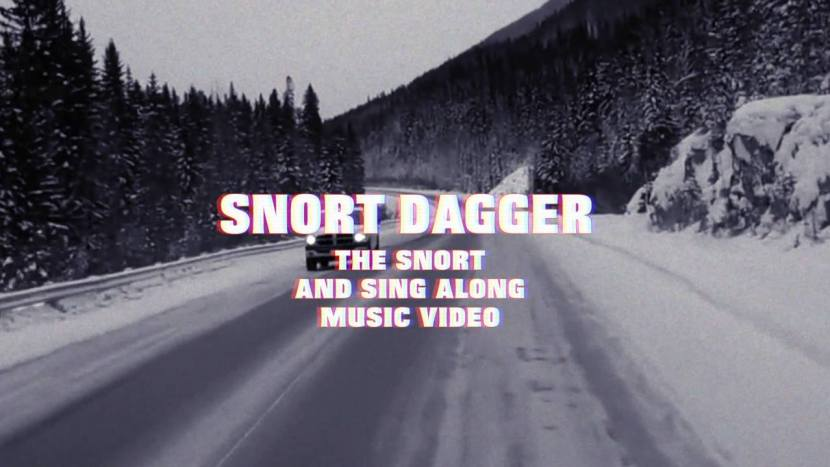 Snort Dagger from the new DOPETHRONE