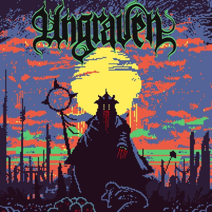 Pure heaviness on the debut by Ungraven