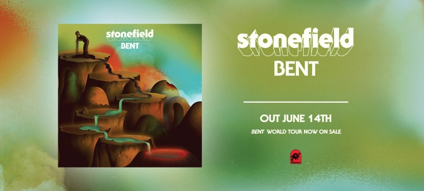 Tomorrow is the release of the album 'Bent' by Stonefield